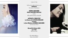 KEIKO MECHERI ad Esxence 2015 invita alla performance musicale di Luciana Bigazzi