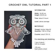 Crochet Owl Tutorial Part 1 by tasamajamarina