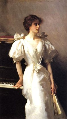 ♪ The Musical Arts ♪ music musician paintings - John Singer Sargent | Catherine Vlasto, 1897