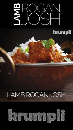 This Lamb Rogan Josh is influenced by Kashmiri versions and the British Indian Curry House. It is richly spiced with complimentary and complex flavours and plenty of chilli spice! Chilli Recipes, Veg Recipes, Indian Food Recipes, Asian Recipes, Vegetarian Recipes, Cooking Recipes, Cooking Tips, Best Lamb Recipes, Indian Chicken Recipes