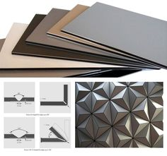 Jules Parmentier DesignAlucobond, material developed by AlcanComposites, is an aluminum composite with a polyethylene plastic core.This coffee table is made out of a single Alucobond printable folded sheet.Available in different colors and finishes. Co Sleeper Crib, Aluminium Cladding, Digital Fabrication, Metal Projects, Facade Design, Facade Architecture, Window Design, Interior And Exterior, Interior Design