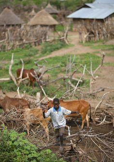 Darashe village - Ethiopia by Eric Lafforgue, via Flickr