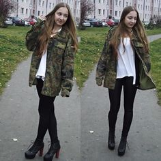 Military style..