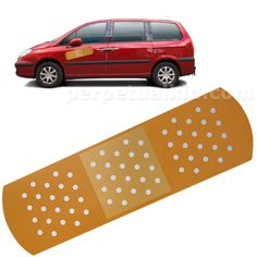Your car has a dent? Put a band aid on it.
