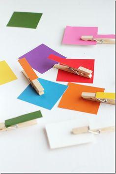 Toddler Teaching: Matching Colors