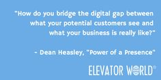 In September's issue, Dean Heasley discusses online reputation management for elevator contractors. #Reputation #Business #LiftContractors