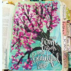 Bible Journaling by Christina Lowery @christinasalive   1 Chronicles 1-3