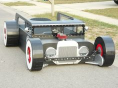Twin Bed 1930 Ford Rat Rod Fantasy Bed by KidsCreationsBeds