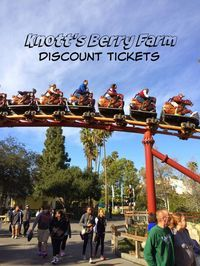 Cheapest Knott's Berry Farm Discount Tickets. Read more of our visit to Knott's on the blog, www.anytots.com