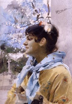 Anders Zorn   watercolor