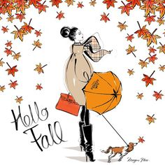 To everyone in the Northern Hemisphere - HAPPY FIRST DAY OF FALL! Get out the Autumn jacket and kick those leaves!