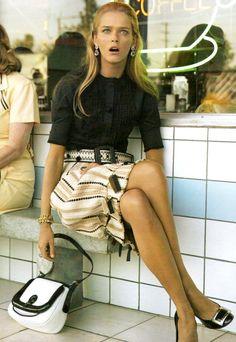 "lelaid: ""Carmen Kass by Steven Klein for Vogue, March 2006 """