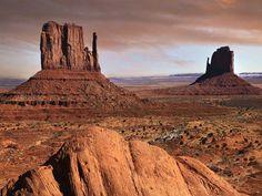 Desert Photo sable brown Oeste americano.