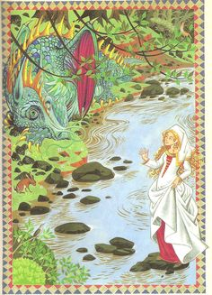 from The Dragon of Og (1981), by Rumer Godden, illustrated by Pauline Baynes -  based on a legend of the Scottish lowlands