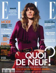 Lou Doillon by Jean Baptiste Mondino / Elle France August 2015 Cover