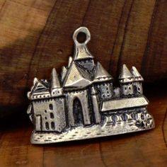 ♥ Chateau De Chillon vintage sterling silver charm