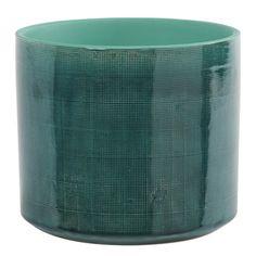 Cache pot vert d'eau