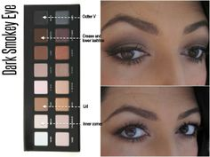5 Looks With The Lorac Pro Palette - Dark Smokey eye