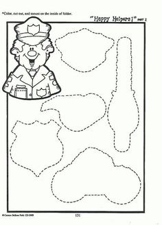 Play to dress up Caillou as a fireman coloring page