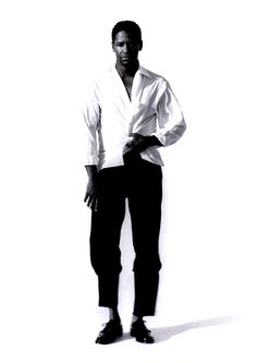 Denzel Washington for Interview, 1990. ©Herb Ritts