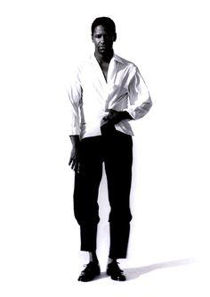 Denzel Washington for Interview, 1990.