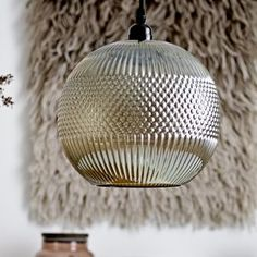 Round Smoked Glass Ceiling Light Pendant Chandelier - ceiling lights