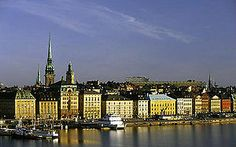 Gamla Stan (Old Town), Stockholm, Sweden. Traveled to Sweden in June 2003. This was a favorite area of mine.