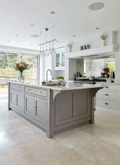 Contemporary Grey Kitchen | Tom Howley