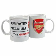 Arsenal Fc Ceramic Mug (Street Sign Design) by Arsenal. $14.88. Mugs. Officially Licensed Product. Arsenal. Arsenal F.C. Mug Ss. Arsenal F.C. Ceramic Mug * In Gift Box Official Licensed Product