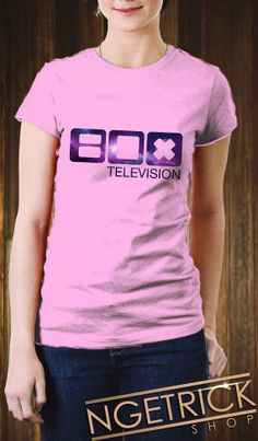 BOX Television Galaxy Women TShirt TV Shows  MTV by Ngetrick, $16.98