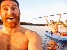 Sami Zayn & Finn Balor in a boat!