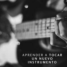 Aprender a tocar un nuevo instrumento #Before25