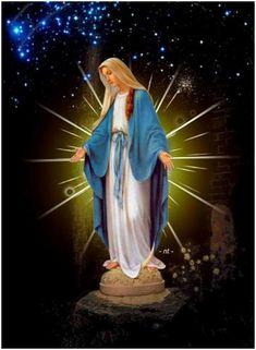 MARÍA VIRGEN INMACULADA CONCEPCIÓN  BENDITA ENTRE TODAS LAS MUJERES #InmaculadaConcepción Padre Amantísimo, que desde el primer instante de su concepción preservaste a María Santísima de toda mancha de pecado original, para que ella fuese un digno remanso para tu Hijo Jesús, enséñanos, Señor a vivir santamente para que seamos templos dignos del Espíritu Santo que habite en nosotros. Te pido que continúes creando de nuevo a tu imagen y semejanza. Enséñanos a ser como la Santísma Virgen...