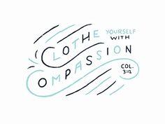 -Colossians 3:12