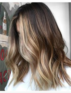 front-heavy balayage pinterest//han_strickland