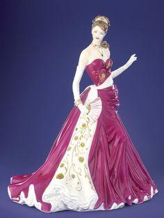 Vintage Porcelain Lady Figurine