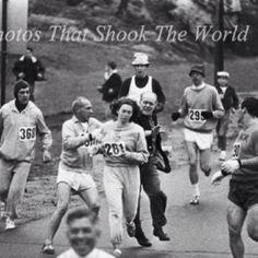 Kathrine Switzer Legend- first woman in Boston Marathon