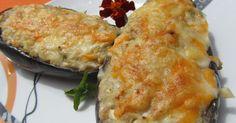 Berenjenas de atún,cocina tradicional,receta dieta,verdura.