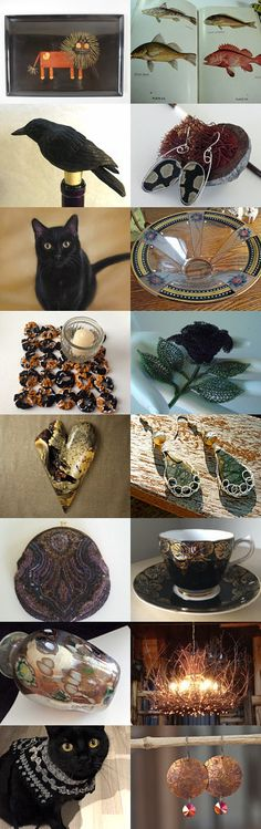 Cuddle up with your cat on that cold mountain. by BLS on Etsy--Pinned+with+TreasuryPin.com
