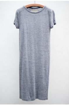 Grey jersey dress (mine is short sleeved but I couldn't find a photo)