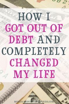 Get out of debt | Learn to save money