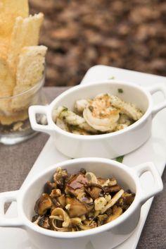 Criações da chef Claudia Mascarenhas valorizam a cozinha brasileira.