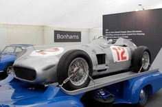 The most expensive motor car ever sold at auction. 1954 Mercedes-Benz W196R 'Silver Arrow': $29,600,000