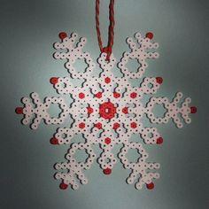 Christmas ornament hama beads by sumaluna