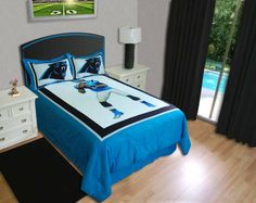 Carolina Panthers Cam Newton Biggshots Comforter Set