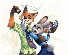 Zootopia - Nick Wilde x Judy Hopps - Wildehopps Walt Disney, Cute Disney, Disney Art, Zootopia Fanart, Zootopia Comic, Pixar, Disney Duos, Zootopia Judy Hopps, Zootopia Nick And Judy
