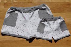 kuka and bubu: Shorts squared! – ¡Shorts al cuadrado! (Cose Conmigo de MRdM)