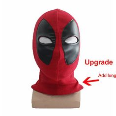 Additional recommend Rulercosplay Deadpool Cosplay Headwear Red Halloween Cosplay Mask for Christmas Gifts Idea Deals Deadpool Cosplay, Deadpool Et Spiderman, Marvel Cosplay, Female Deadpool, Deadpool Stuff, Deadpool 2016, Costume Spider-man, Deadpool Halloween Costume, Cosplay Costumes For Men