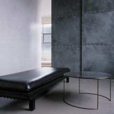 OCHRE - Contemporary Furniture, Lighting And Accessory Design - Bench - Leather // http://www.ochre.net/