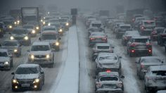 12/25/2014 - 500 accidents an hour: Snowbound Moscow stuck in worst ever Christmas traffic (PHOTOS, VIDEO)